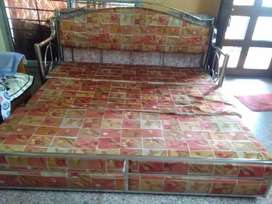 Steel Sofa cum bed