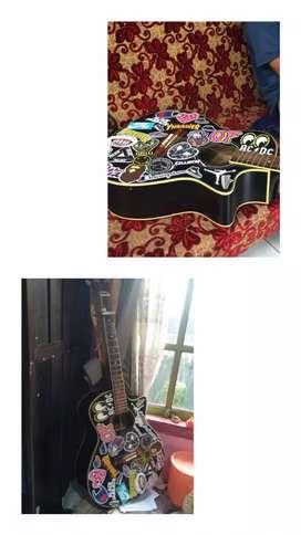 Jual gitar acoustic Taylor , tanam besi , suara garing