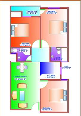 SECTOR 14 3BHK with LAON and SUBSIDY call NOW