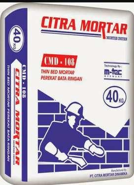 Thinbed citra mortar kemasan 40 kg