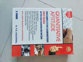 Quantitative aptitude by RS Aggarwal by s.chand publication