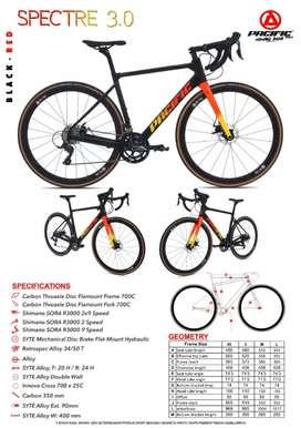 Pacific Spectre 3.0 700c Roadbike