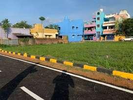 Corana offers plots sale in ponneri railway station near