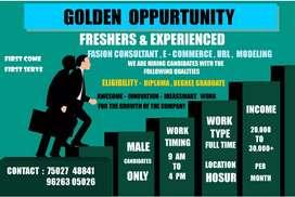 Online work business orientation