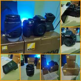 Nikon D5200 fullset, gratis tas dan tripod, mulus parah gan #negohalus