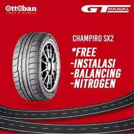 Jual ban mobil GT radial champiro SX2 225 40 R18.