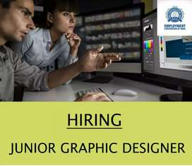 WANTED JUNIOR GRAPHIC DESIGNER