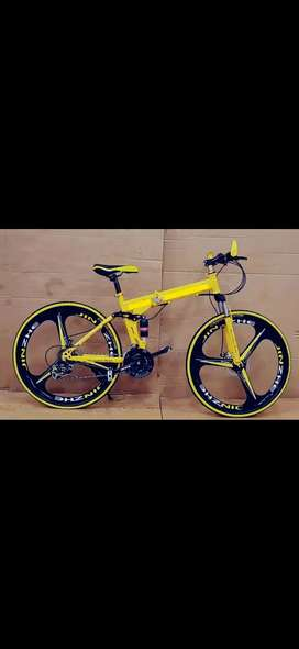 Brand new Foldeble Bicycles with double shocker