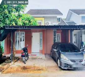 Serpong Garden Rumah Full Renov Siap Huni AC Water Heater Kanopi