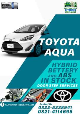 Upto 3 years replacement warranty for Toyota Aqua hybrid battery