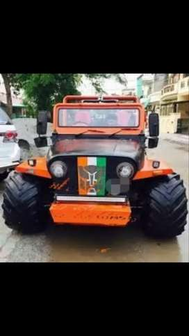 Toyota modified wiily jeep