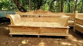 Jual Bale bale minimalis stock mentahan dari jepara kayu jati pilihan