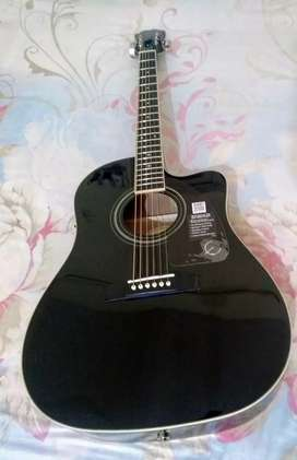 Epiphone, Acoustic-Electric Guitar, AJ-220SCE -Ebony