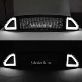 Ford mustang front grill with DRL