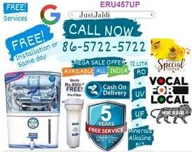 ERU457UP Water Filter LED Water Purifier fridge Water Tank RO  FREE PR