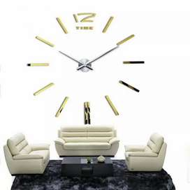 Jam Dinding Besar DIY Giant Wall Clock Quartz Creative Design