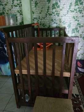 Box bayi kayu ukuran 120x60