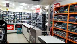 Established Branded Garment Shop for sale.