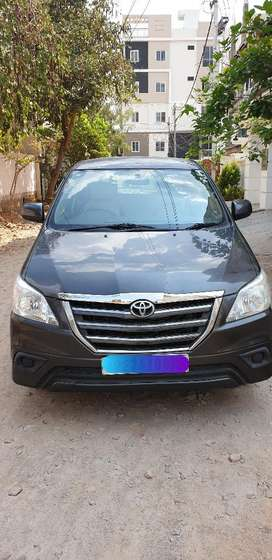 Toyota Innova 2.5 GX 8 STR BS-IV, 2015, Diesel