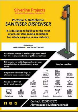 Sanitizer Stand