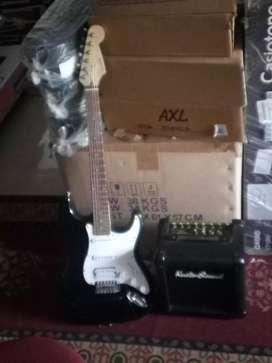 Jimm electric guitar & 25 w cube