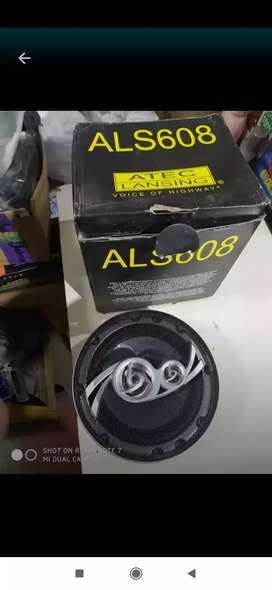 Speaker coaxial alteck 6 inch