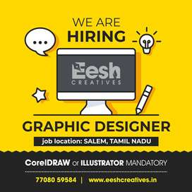 Wanted Graphic Designer (Female)