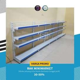Jual Rak supermarket  murah  pabrik gondola