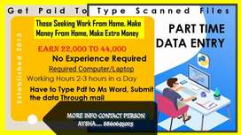 Data entry part time