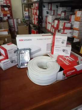 HIKVISION HD CCTV CAMERA SYSTEM on easy finance facilities