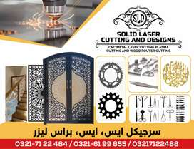 CNC laser, plasma and wood router cutting