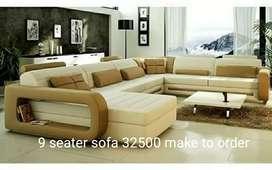 U shape 9 seater sofa make to order