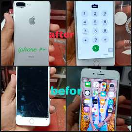 Offer iphone7+  screen replacemen only rs.2500