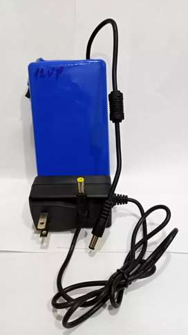 Power Bank 12V UPS For Wifi Router Solution Of Load Shedding