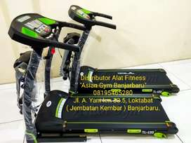 Ready Treadmill Elektrik 2hp 3 Fungsi Bonus Twister