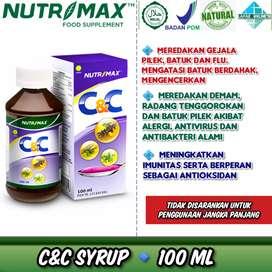 [Batuk Pilek Influenza Berdahak Demam Anti Virus Bakteri] nutrimax cnc
