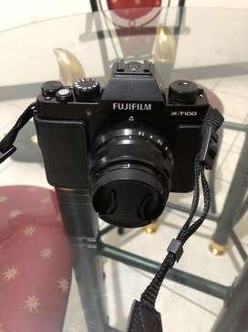 Di jual fujifilm xt 100 dan lensa fujinon 35mm f2