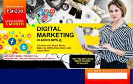 Digital marketing and sales work