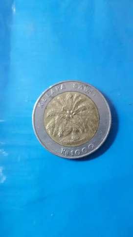 Uang logam 1000 kelapa sawit
