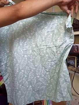 NURSING COVER / APRON MENYUSUI cottonseed