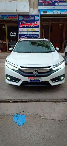 Honda Civic UG Facelift Bank Leased Available 2019