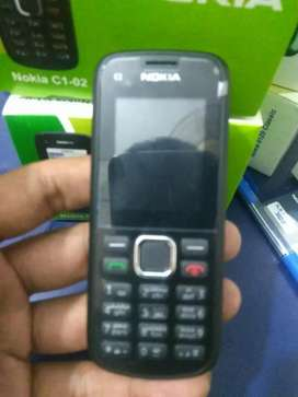 Nokia C1-02 PTA Approved Original Phone Box Pack With Free Delivery