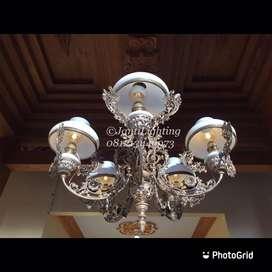 Promo lampu gantung jawa antik cabang repro dekorasi rumah jawa murah