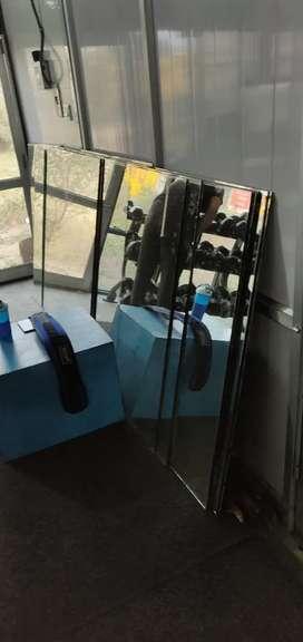 Gym glass for sale