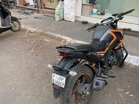 Honda cb hornet 160 with two disk break