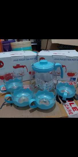 Tea pot set teko