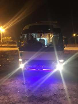 Toyota coaster available for rent in very good rates