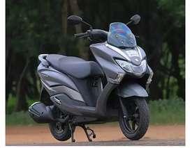 5000/- down payment Suzuki burgman new
