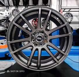 Velg HSR 57E R17 Racing Mobilio, Jazz Rs, Mazda2, Livina, Yaris Avanza