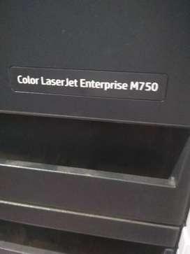 Printer Hp color LaserJet Enterprise M750